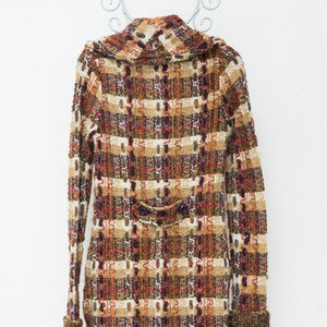 CHARLIE AND ROBIN Marled Coat M